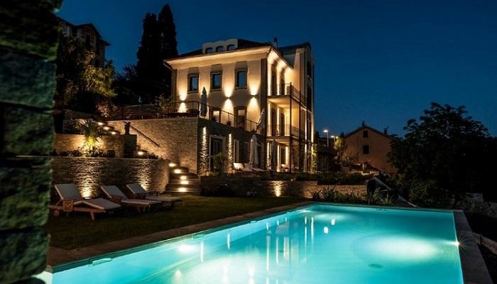 Etkileyici İtalyan Mimarisini Büyüleyici Maggiore Gölü ile Tamamlıyor