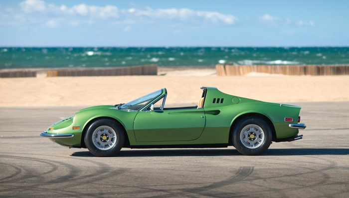 Ferrari Dino 246 GTS Modelinin Görünümü