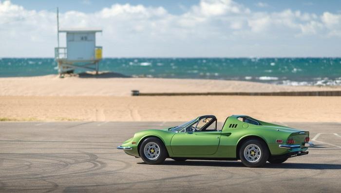 Ferrari Dino 246 GTS Modelinin Performansı