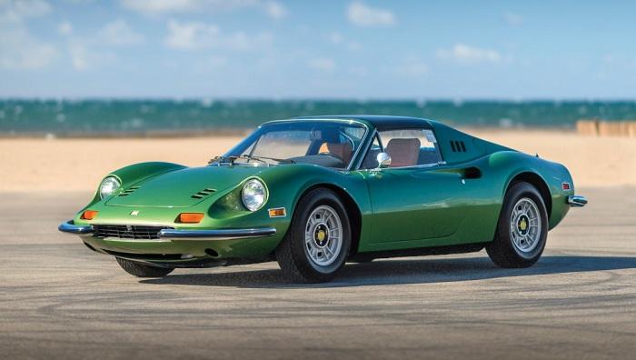 Ferrari Dino 246 GTS Modelinin Tahsil Edilebilirliği