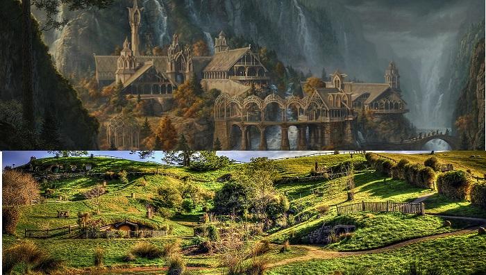 Shire ve Ayrıkvadi - Yüzüklerin Efendisi