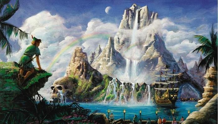 Varolmayan Ülke - Peter Pan