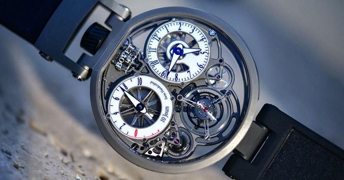 Göz Alıcı Görselliğiyle Etkileyici Bir Pininfarina Saati