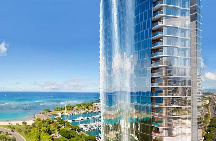 """Hawaii'nin En Görkemli Çatı Katı Dairesi: """"Waiea Tower Grand Penthouse"""""""