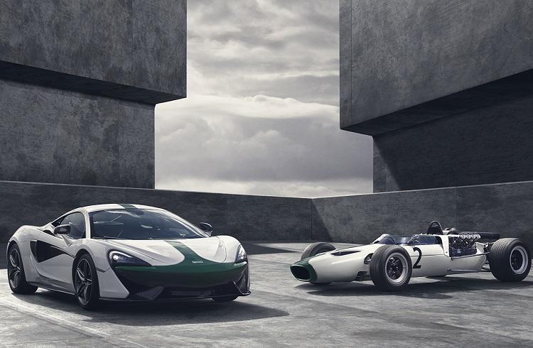 McLaren Formula 1 Yarışlarındaki 50. Yılını 570S M2B Modeli ile Kutluyor!