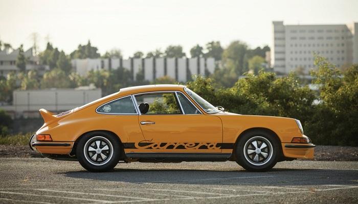 Porsche 911 2.7 RS Modelinin Tahsil Edilebilirliği