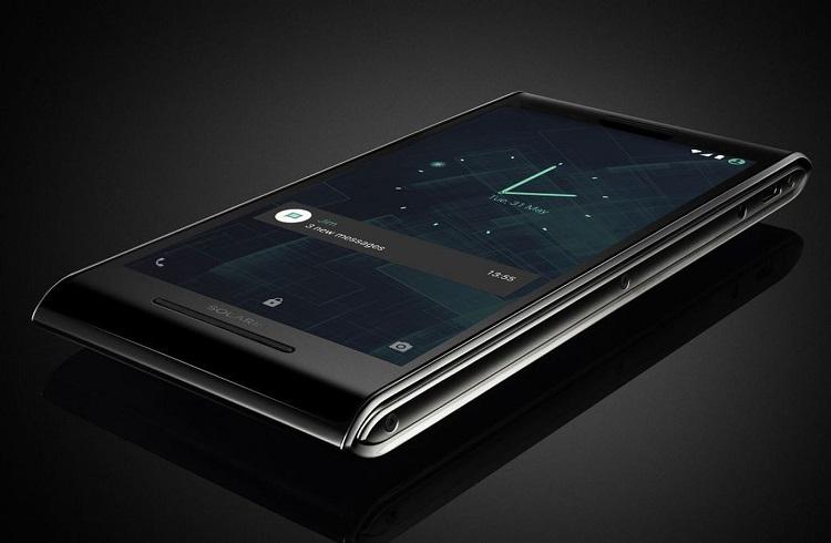 """Göz Alıcı Şıklığı ile Dünyanın En Güvenli Telefonu: """"Solarin"""""""