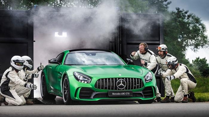 Üstün Performanslı Bir Mercedes-AMG Modeli