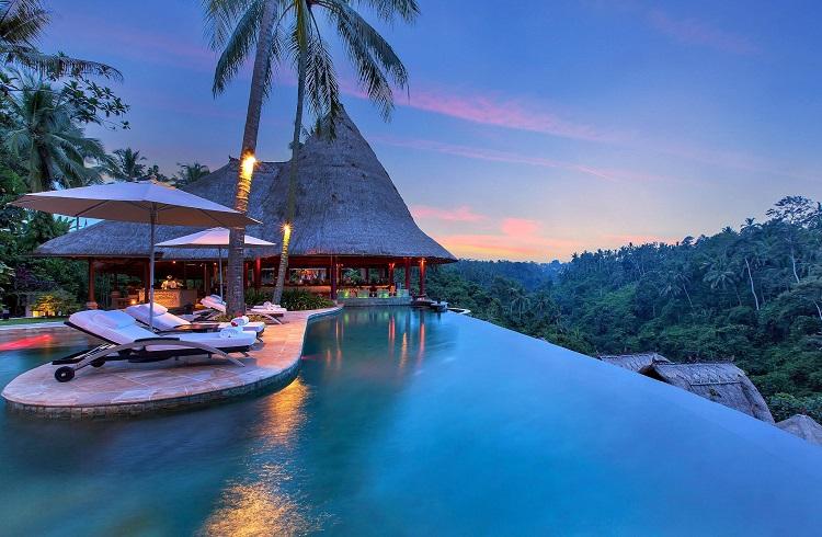 Viceroy Hotel Bali Krallar Vadisi'ne Karşı Eşsiz Bir Tatil Sunuyor