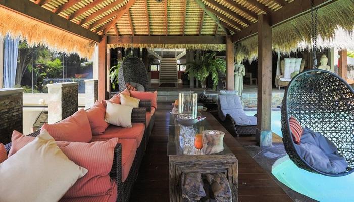 Amandari House Şehrin ve Sahilin Güzelliklerini Yansıtıyor
