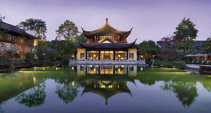 Banyan Tree Hangzhou Otelinin Sanatsal ve Tarihi Tasarımı