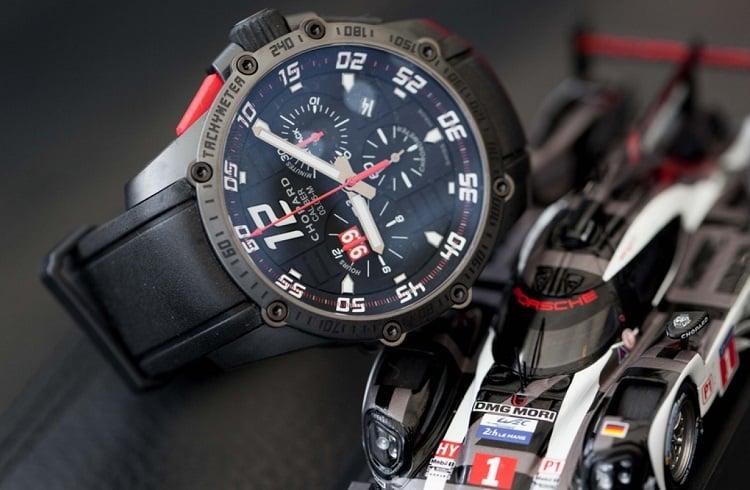 Chopard Tasarımı Yeni Saat: Superfast Chrono Porsche 919 Black Edition