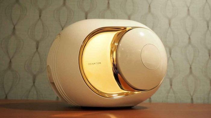 Devialet Gold Phantom Hoparlörünün Zarif Tasarımı