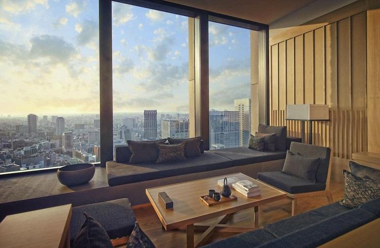 """Dünyanın En Büyük Şehrinde Cennet Gibi Bir Otel: """"Aman Tokyo"""""""