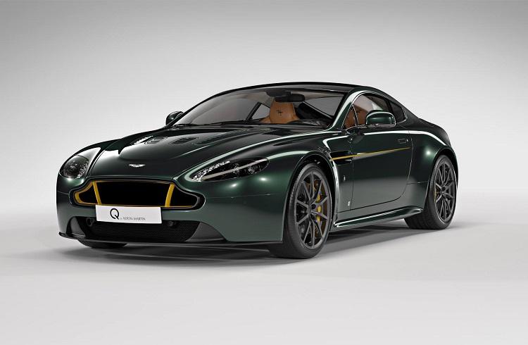 İngiliz Efsanesi Spitfire Aston Martin Vantage S 80 Modelinde Hayat Buluyor!