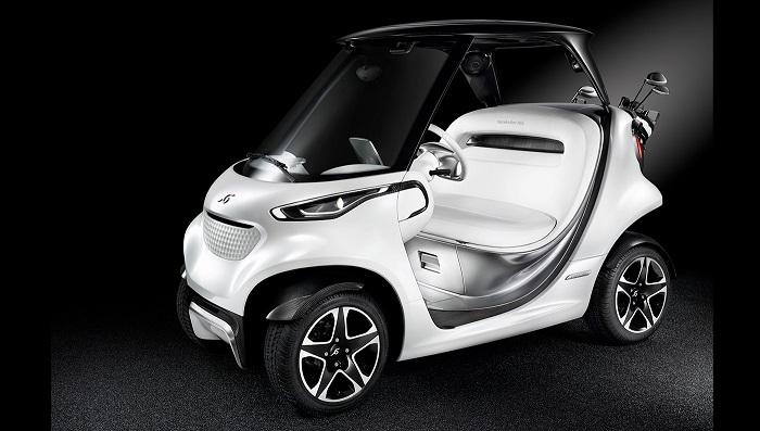Mercedes-Benz'in Yeni Konsept Golf Arabası