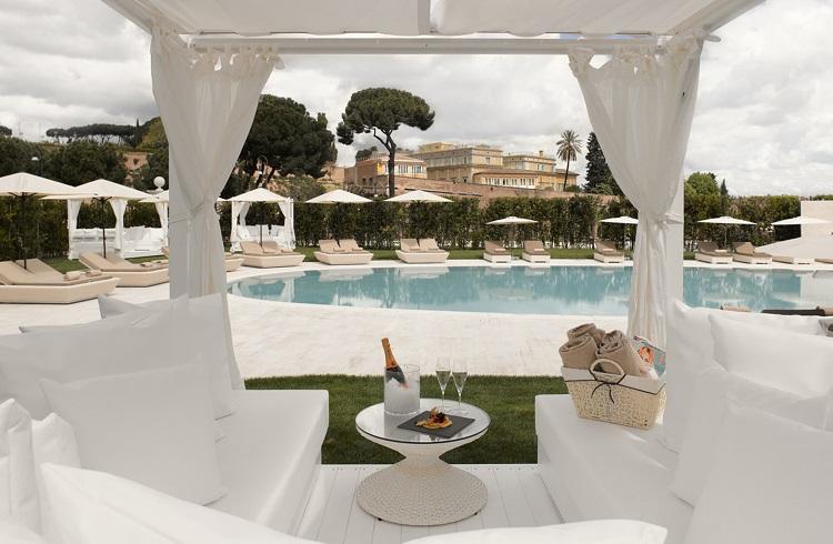 """Roma'nın Göbeğinde Muazzam Bir Otel: """"Gran Melia Rome"""""""