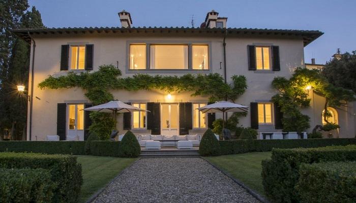 Sanatsal Tasarımıyla Firenze Villa