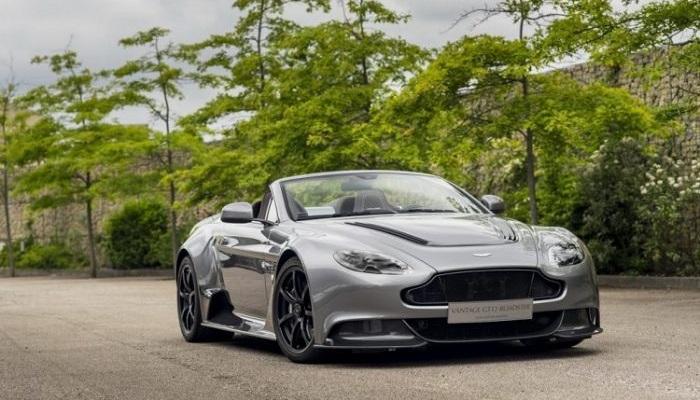 Ustaca Meydana Getirilmiş Bir Aston Martin Modeli