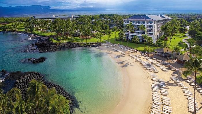 Büyüleyici Atmosferiyle Muhteşem Bir Hawaii Oteli