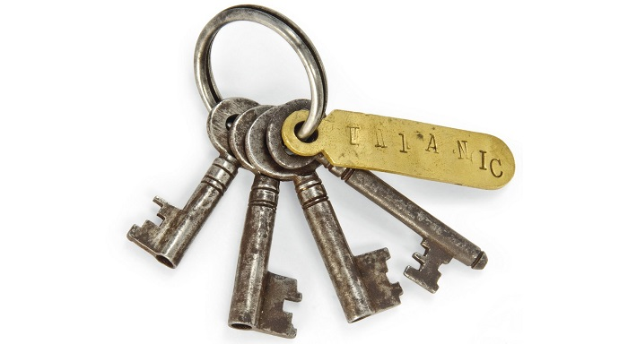 R.M.S Titanic Gemisinin Asma Kilit Anahtarları