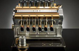 """Grand Prix Motorundan Dünyanın En Lüks Kahve Makinesine: """"Espresso Veloce Aurum 18ct"""""""