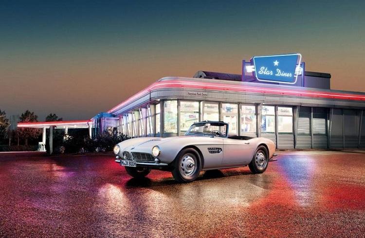 Elvis Presley Restore Edilmiş 57 Model BMW 507 ile Yeniden Hayat Buluyor