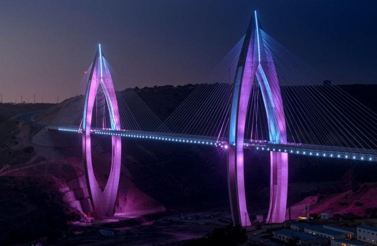 """Gecenin Karanlığına Işık Tutan Mimari Bir Başyapıt: """"VI. Muhammed Köprüsü"""""""