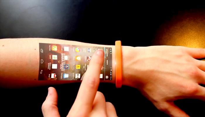 Giyilebilir Dokunmatik Ekran