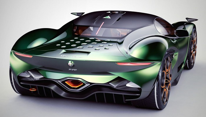 Gelecekten İpuçları Sunan Bir Süper Araba: Alfa Romeo Furia