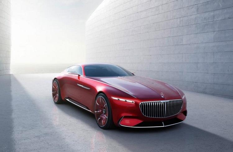 "Otomotiv Sektörünün Yeni Cazibesi: ""Vision Mercedes Maybach 6 Concept"""