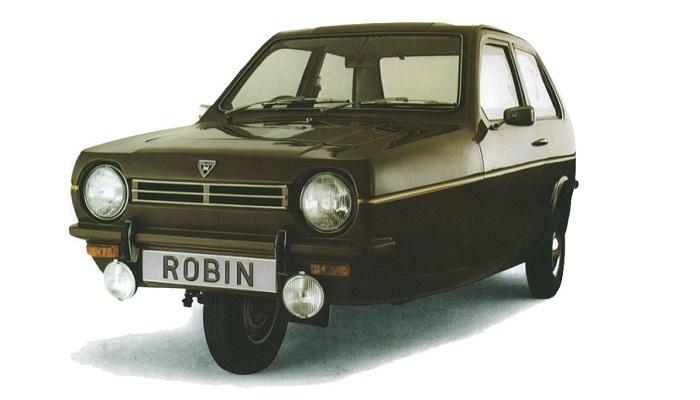 Reliant Robin - Üç Tekerlekli Araç