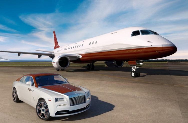 """Rolls-Royce Markasının En Lüks Modeli: """"Wraith Regata"""""""