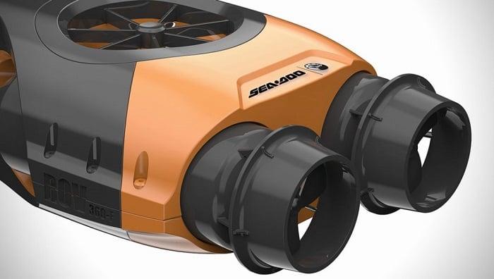 ROV Sualtı Drone Modelinin Etkileyici Teknik Özellikleri