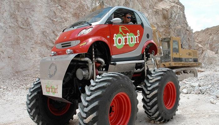Smart Monster Truck - Smart Canavar Kamyon