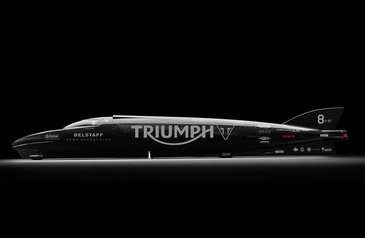 Triumph Rocket En Hızlı Motosiklet Rekorunu Kırabilecek mi?