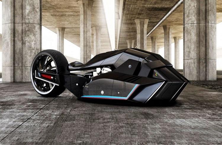 Türk Bir Tasarımcının Ellerinde Hayat Bulan BMW Titan Concept Motosiklet
