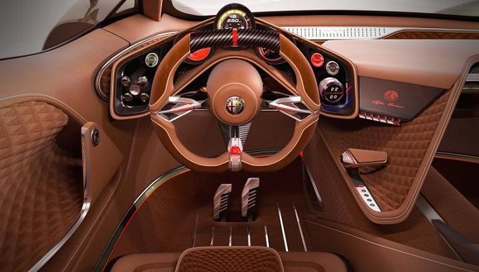 Ultra Lüks İç Mekan Tasarımıyla Alfa Romeo Furia