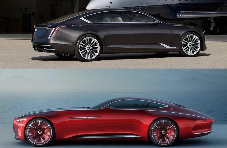 Vision Mercedes-Maybach 6 Harikası Cadillac Escala Güzelliğine Karşı