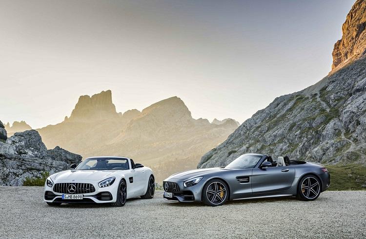 """Asfalt Yolların Yeni Kralları: """"2018 Mercedes-AMG GT C Roadster ve GT Roadster"""""""