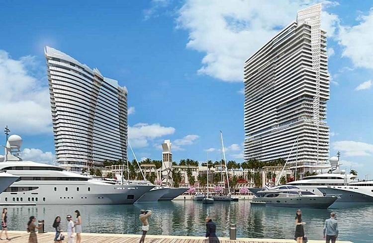 """ABD'nin İlk Süper Yat Marinası: """"Island Gardens Deep Harbour"""""""