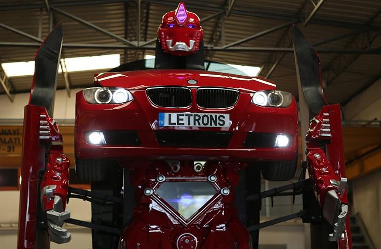 """Türk Yapımı Dünyanın İlk Transformer'ı """"Letrons"""" ile Tanışmaya Hazır Olun!"""