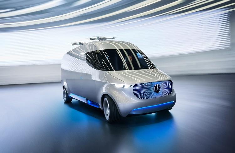 """Mercedes-Benz, Elektrikli """"Vision Van Concept"""" Minibüsü ile Taşımacılık Sektörünü Kökten Değiştirecek"""