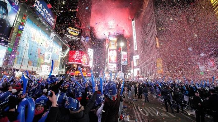 Times Meydanı Yılbaşı Kutlamaları