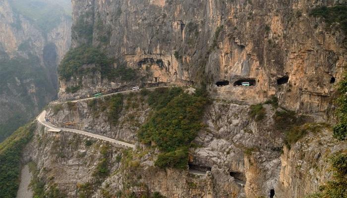 Guoliang Tünel Yolu - Çin