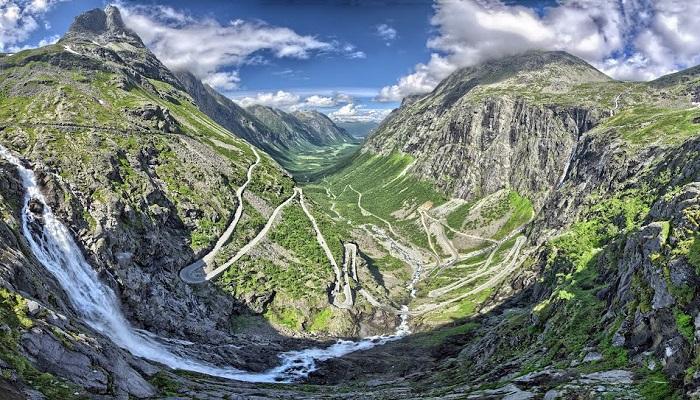 Trollstigen - Norveç