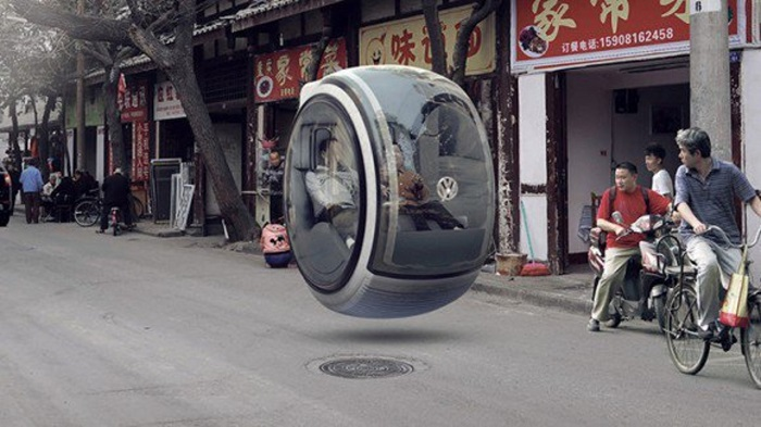 Volkswager Hover Car