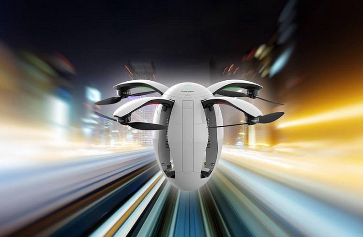 """Avrupa'nın En Büyük Teknoloji Fuarına Damgasını Vuran Bir Drone Modeli: """"PowerEgg"""""""