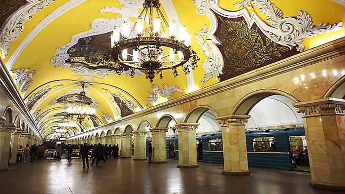 Rusya'daki Metro Sistemi, Dünyanın En Uzun Dördüncüsü ve En Güzellerindendir