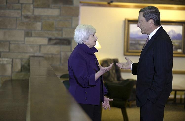 Yellen'den Gelecek Sürpriz Faiz Kararı, Draghi'ye Yarar mı?